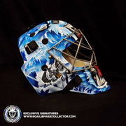 "CURTIS ""CUJO"" JOSEPH SIGNED GOALIE MASK AUTOGRAPHED TORONTO LEGACY  VINYL EDITION"