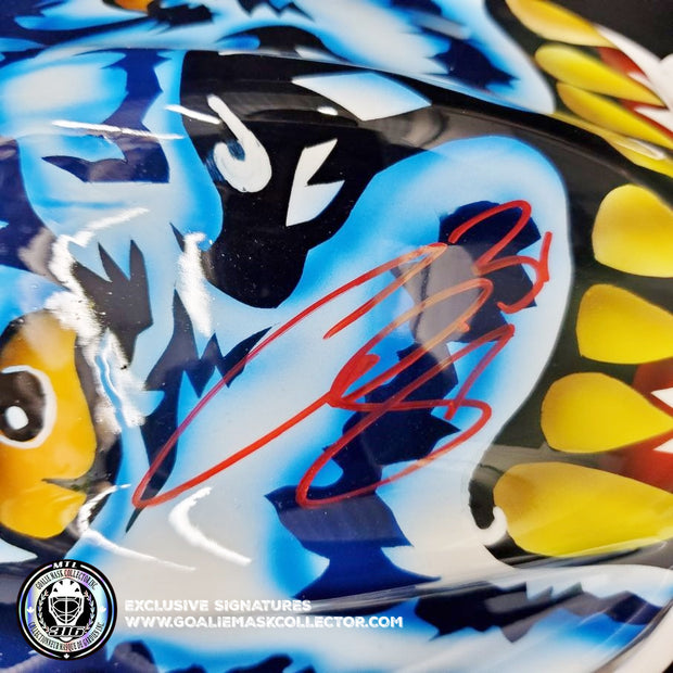 CURTIS JOSEPH SIGNED GOALIE MASK AUTOGRAPHED ST. LOUIS MAD DOG AS EDITION