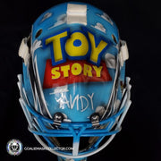 Custom Toy Story Goalie Mask Un-Signed