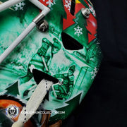 DEVIN DUBNYK GOALIE MASK GAME USED WORN MINNESOTA WILD 2016-2017 SEASON + ALL-STAR GAME + STANLEY CUP PLAYOFFS