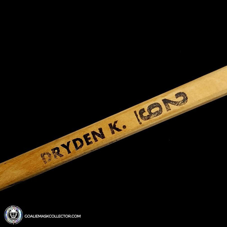 Ken Dryden Sherwood PMP Game Ready Stick Unsigned Montreal Canadiens