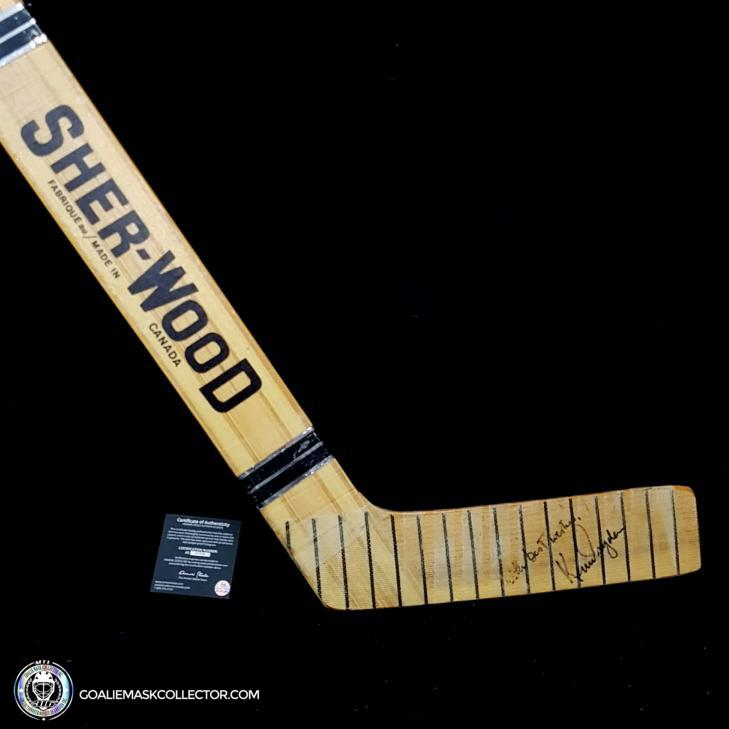Ken Dryden Signed Sherwood PMP Game Ready Stick Autographed Montreal Canadiens