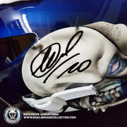EVGENI NABOKOV SIGNED GOALIE MASK AUTOGRAPHED NEW YORK SIGNATURE EDITION