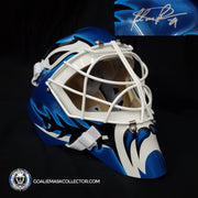 "Felix ""The Cat"" Potvin Signed Goalie Mask ROOKIE Toronto Autographed Signature Edition"