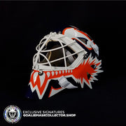 FELIX POTVIN UN-SIGNED GOALIE MASK NEW YORK EDITION