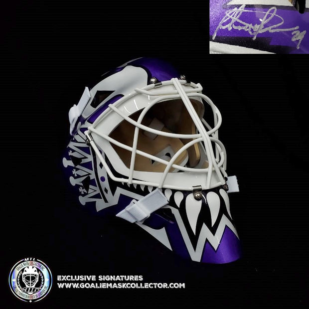 FELIX POTVIN SIGNED GOALIE MASK AUTOGRAPHED LOS ANGELES SIGNATURE EDITION