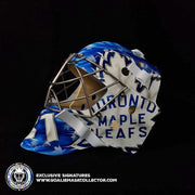 FREDERIK ANDERSEN SIGNED GOALIE MASK TORONTO LEGACY SIGNATURE EDITION AUTOGRAPHED