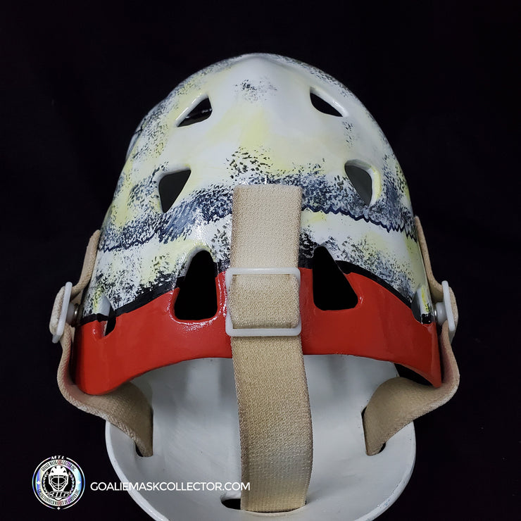 Gary Bromley Goalie Mask Un-Signed Vancouver