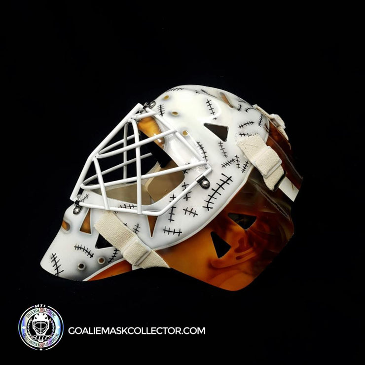 Gerry Cheevers Signed Goalie Mask Boston Tribute Autographed Signature Edition