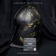 LAS VEGAS GOLDEN KNIGHTS HELMET SIGNED BY ENTIRE TEAM 2018-19 FLEURY PREMIUM EDITION AUTOGRAPHED FULL SCALE