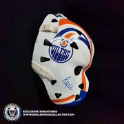 GRANT FUHR SIGNED VINTAGE GOALIE MASK AUTOGRAPHED 1983-1985 EDMONTON AS EDITION