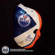 GRANT FUHR SIGNED VINTAGE GOALIE MASK AUTOGRAPHED 1981-82 ROOKIE EDMONTON AS EDITION