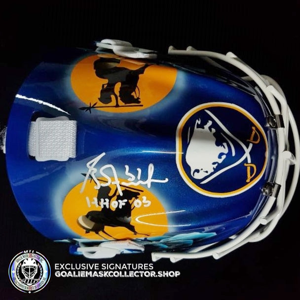 GRANT FUHR SIGNED AUTOGRAPHED GOALIE MASK BUFFALO AS EDITION