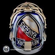 Henrik Lundqvist Goalie Mask Un-Signed 2012 Winter Classic New York