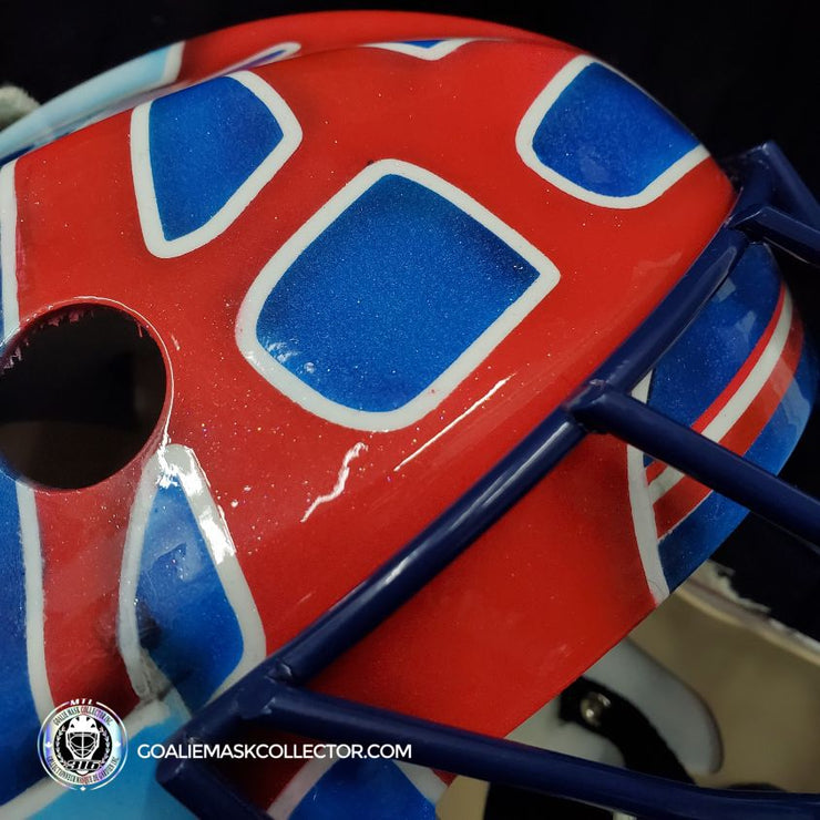 Jocelyn Thibault Signed Goalie Mask Montreal Tribute Autographed SIGNATURE EDITION
