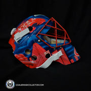 Jose Theodore Signed Goalie Mask Montreal Autographed Signature Edition