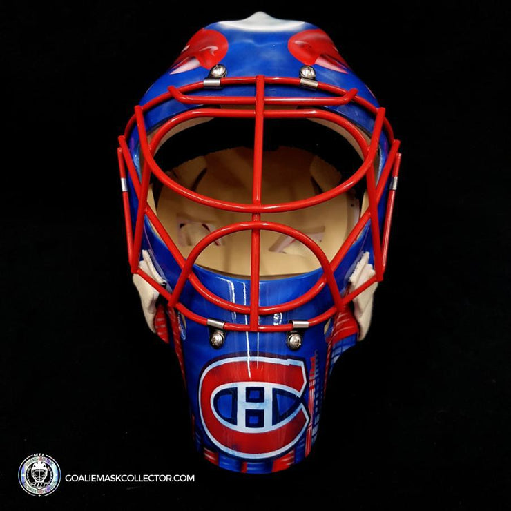 Jose Theodore Unsigned Goalie Mask Montreal