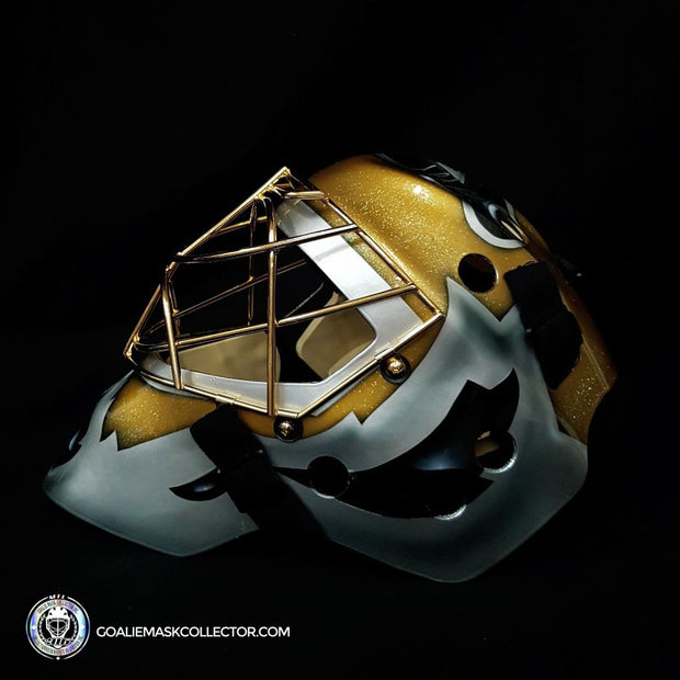 "Martin Brodeur ""BLACK & GOLD Edition"" Signed Goalie Mask New Jersey Autographed Signature Edition LE Release of 5"