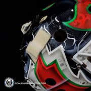 Martin Brodeur Signed Goalie Mask Autographed 2014 Stadium Series New Jersey Signature Edition