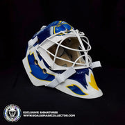 MARTIN BRODEUR SIGNED GOALIE MASK AUTOGRAPHED ST. LOUIS CLASSIC SIGNATURE EDITION