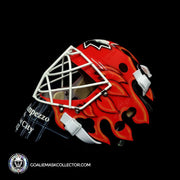 Martin Brodeur Signed Goalie Mask Olympics Team Canada Autographed Signature Edition