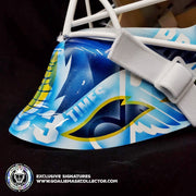 MARTIN BRODEUR SIGNED GOALIE MASK AUTOGRAPHED ST. LOUIS LEGACY EDITION