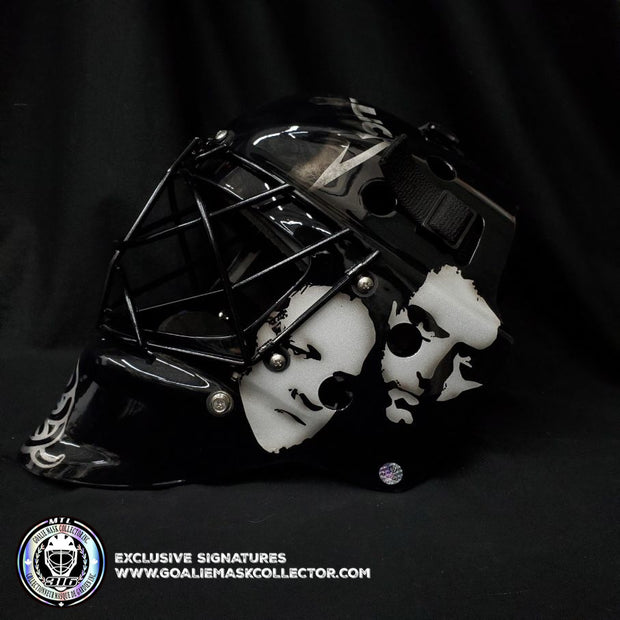 METALLICA GOALIE MASK BLACK ALBUM TRIBUTE UN-SIGNED