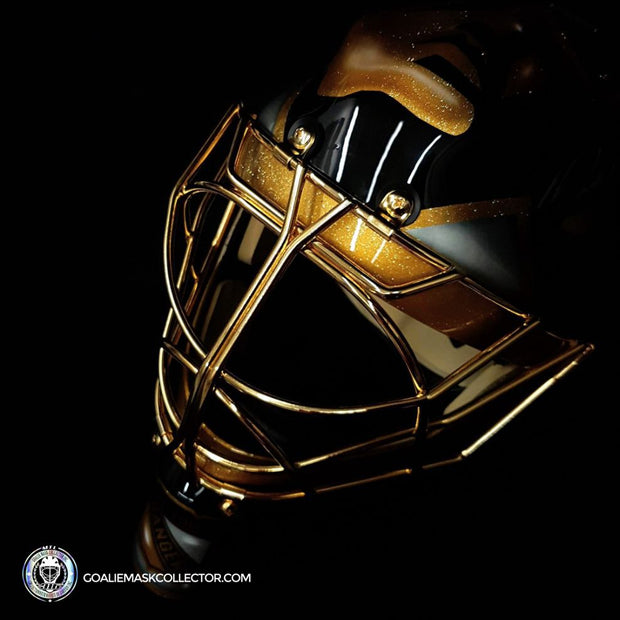 "Mike Richter ""BLACK & GOLD Edition"" Signed Goalie Mask New York Autographed Signature Edition LE Release of 5"