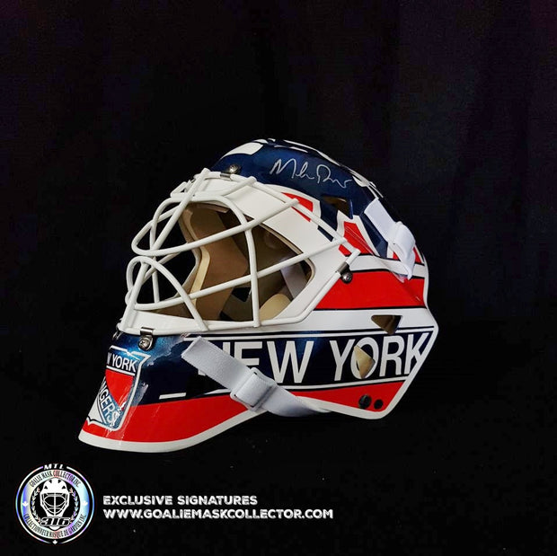MIKE RICHTER SIGNED GOALIE MASK CLASSIC 1994 NEW YORK AUTOGRAPHED AS EDITION