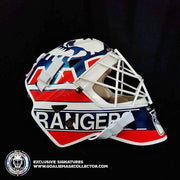 MIKE RICHTER SIGNED GOALIE MASK CLASSIC 1994 NEW YORK SIGNATURE EDITION AUTOGRAPHED