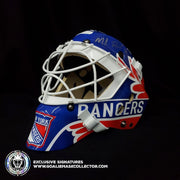 MIKE RICHTER SIGNED GOALIE MASK AUTOGRAPHED NEW YORK CLASSIC 1996 TRIBUTE AS EDITION