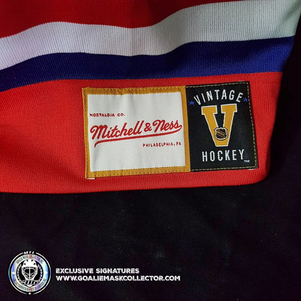 PATRICK ROY ART EDITION SIGNED JERSEY HAND-PAINTED MONTREAL CANADIENS 1993 STANLEY CUP PATCH