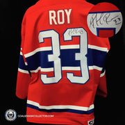 Patrick Roy Game Worn Jersey Signed Montreal Canadiens Autographed LOA by Roy