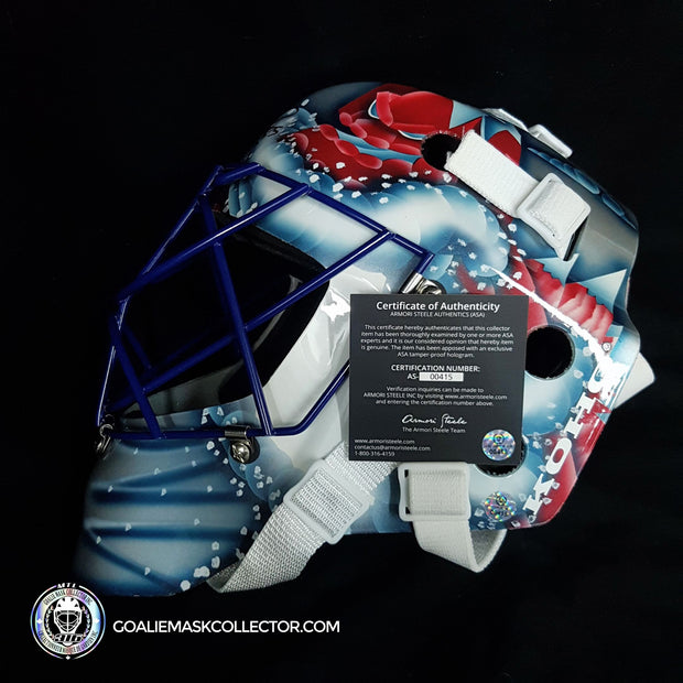 Patrick Roy Signed Goalie Mask Colorado Gen 3 KOHO Lefebvre