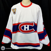 Steve Penney Game Worn Jersey Autographed Heritage Classic Edmonton Montreal Canadiens