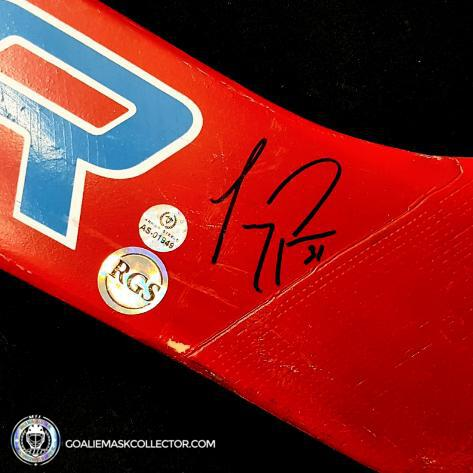 Carey Price Signed Bauer Game Used Stick Signed Autographed Montreal Canadiens Bauer Supreme 7500