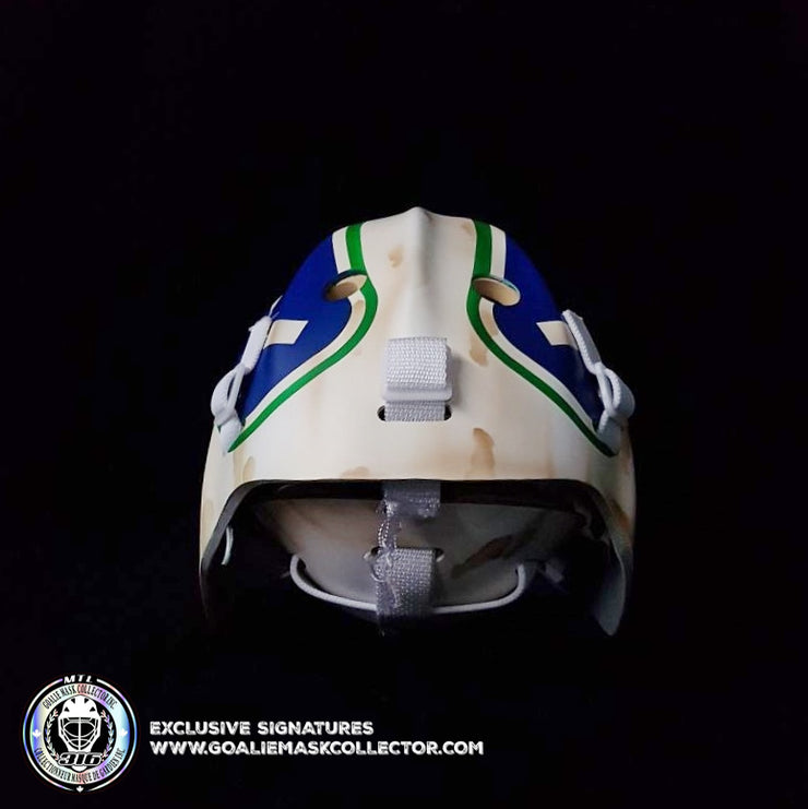 ROBERTO LUONGO UN-SIGNED GOALIE MASK VANCOUVER