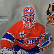 Patrick Roy Signed Lithos Lapensee 23x27 Limited Edition of 100