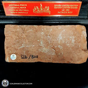 Patrick Roy Montreal Forum Signed Brick