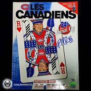 Patrick Roy Signed Les Canadiens Vol.9 #6 Magazine