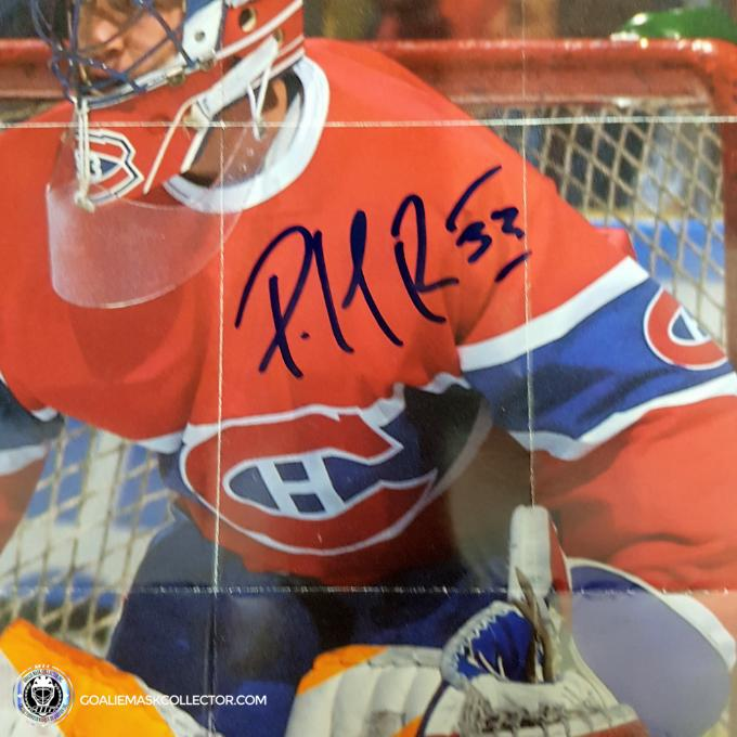 Patrick Roy Signed Road Block Magazine
