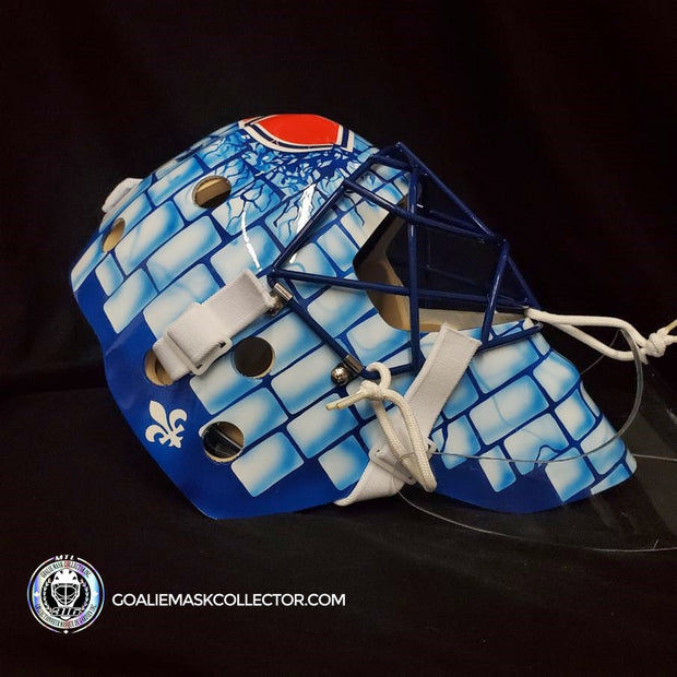 STEPHANE FISET GOALIE MASK QUEBEC IGLOO UN-SIGNED