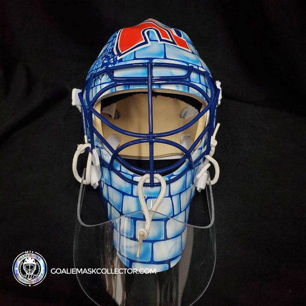 Unsigned Goalie Mask Goalie Mask Collector