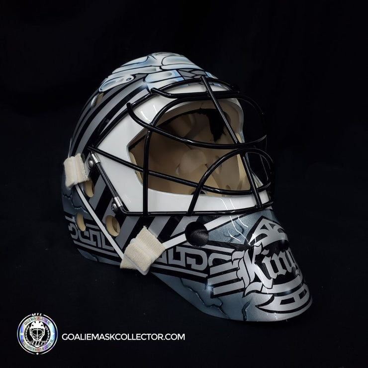 Stephane Fiset Signed Goalie Mask Los Angeles Signature Edition Autographed Tribute