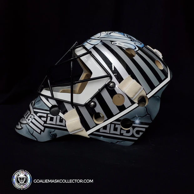 Stéphane Fiset Goalie Mask Un-Signed Los Angeles