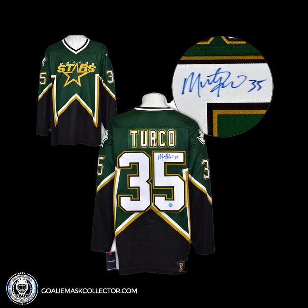Marty Tuco Dallas Stars Fanatics Vintage Jersey Autographed