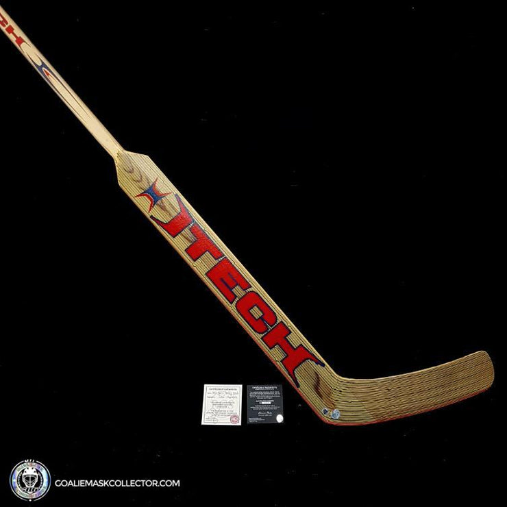 Jose Theodore Signed Itech Game Ready Stick Montreal Canadiens