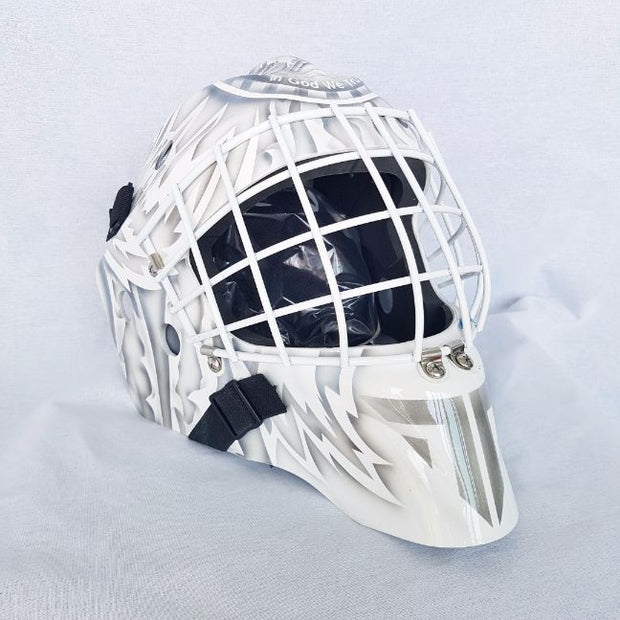 TIM THOMAS UN-SIGNED GOALIE MASK BOSTON ON CCM