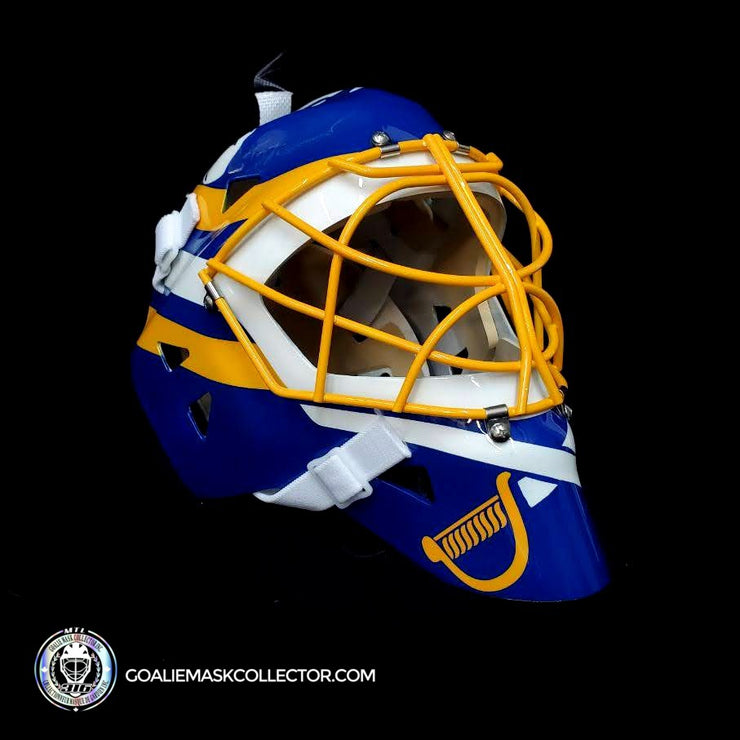Tom Barrasso Unsigned Goalie Mask Collector Buffalo