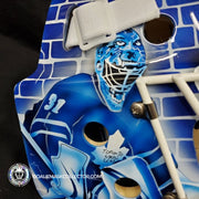 CUSTOM: TORONTO LEAFS GREATS GOALIE MASK TRIBUTE UN-SIGNED HELMET POTVIN JOSEPH